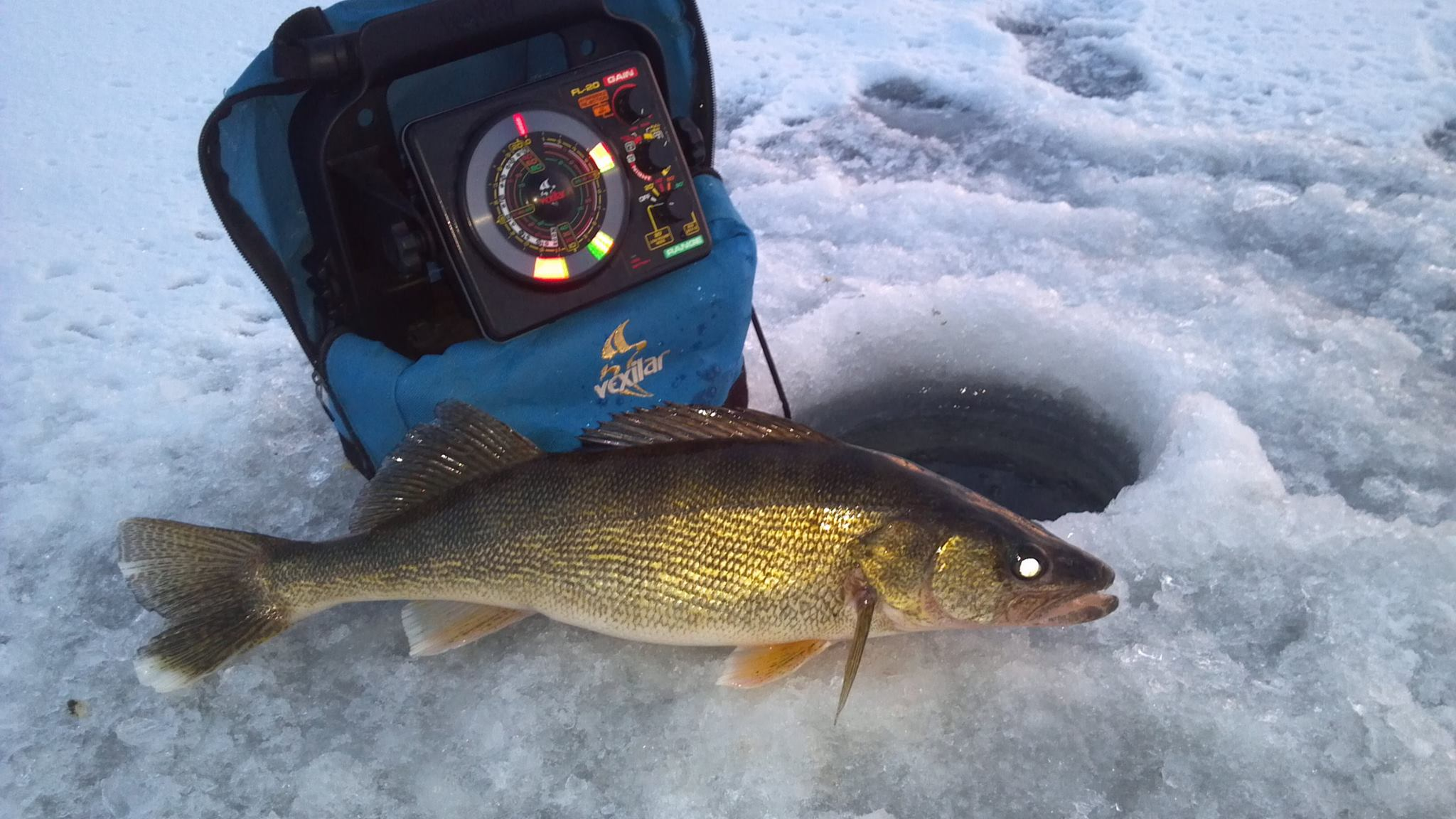 in the bag guide service green bay ice fishing